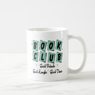 Book Club Retro - Good Friends, Times and Laughs Coffee Mugs
