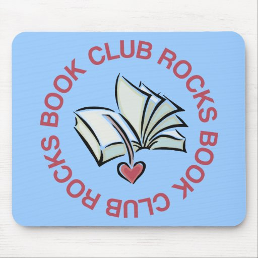 Book Club Rocks Mouse Pad