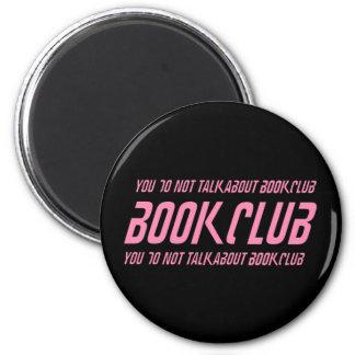 Book Club Rules Fridge Magnets
