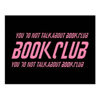 Book Club Rules Postcard