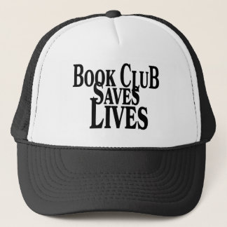 Book Club Saves Live Trucker Hat