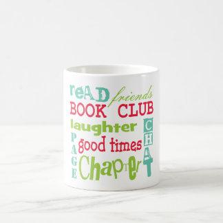 Book Club Subway Design by Artinspired Classic White Coffee Mug