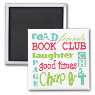 Book Club Subway Design by Artinspired Magnet