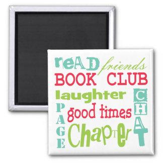 Book Club Subway Design by Artinspired Fridge Magnets