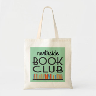 Book Club with custom name deco style Tote Bag