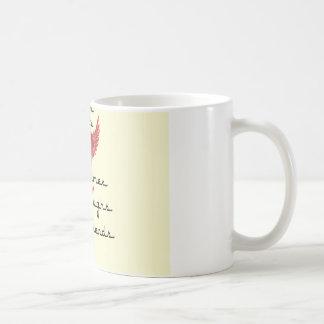 book club with heart design coffee mug