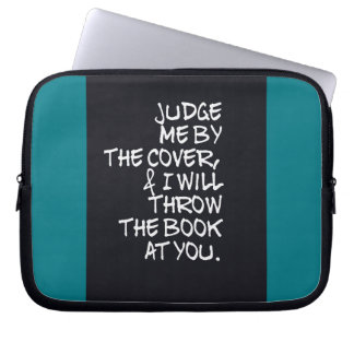 Book, Cover, & All That Jazz Laptop Sleeve