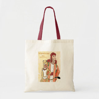 Book Cover Budget Tote Bag