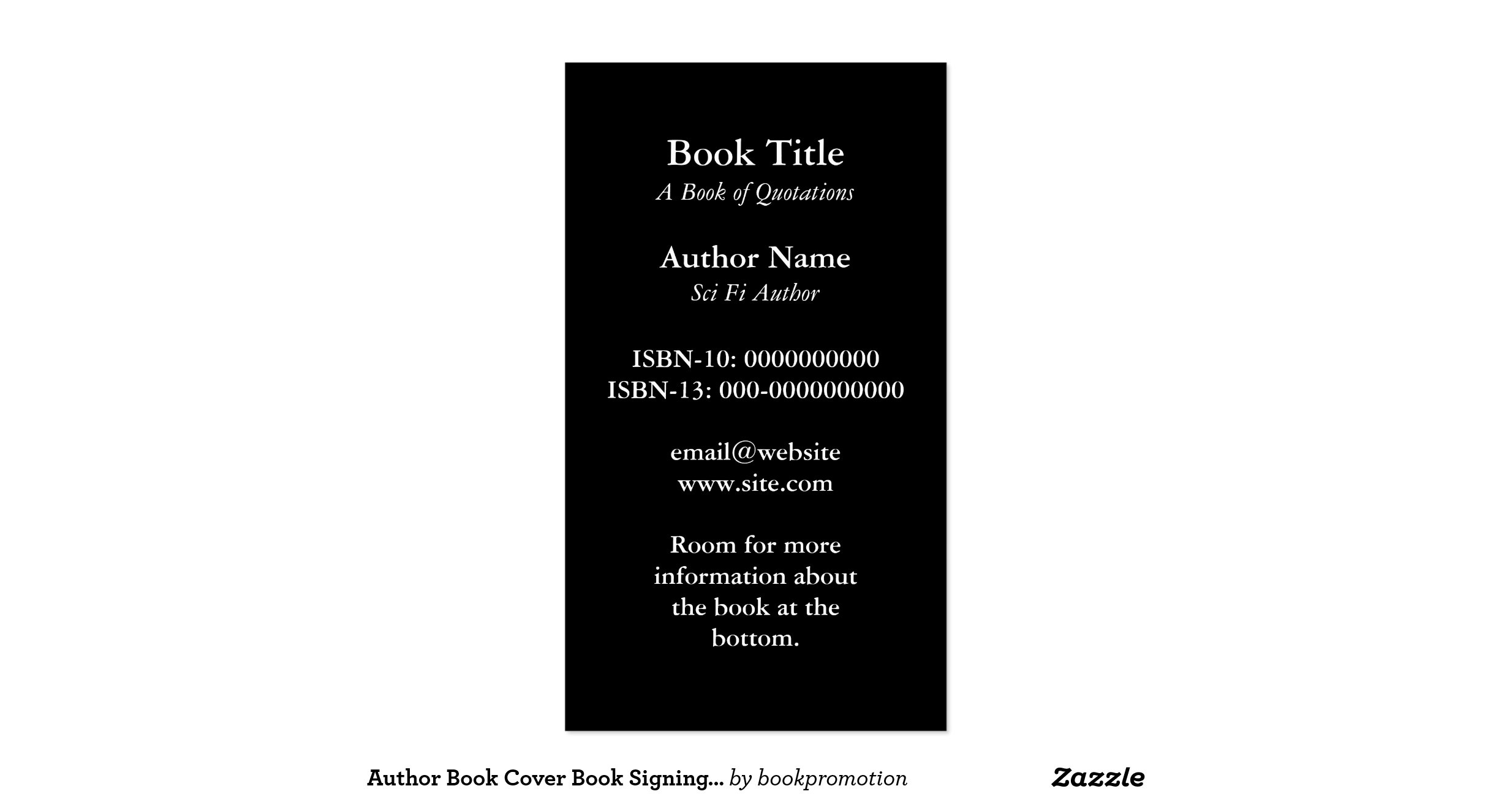 Book Cover Business Cards : Book cover business card r b ff afbc d dda