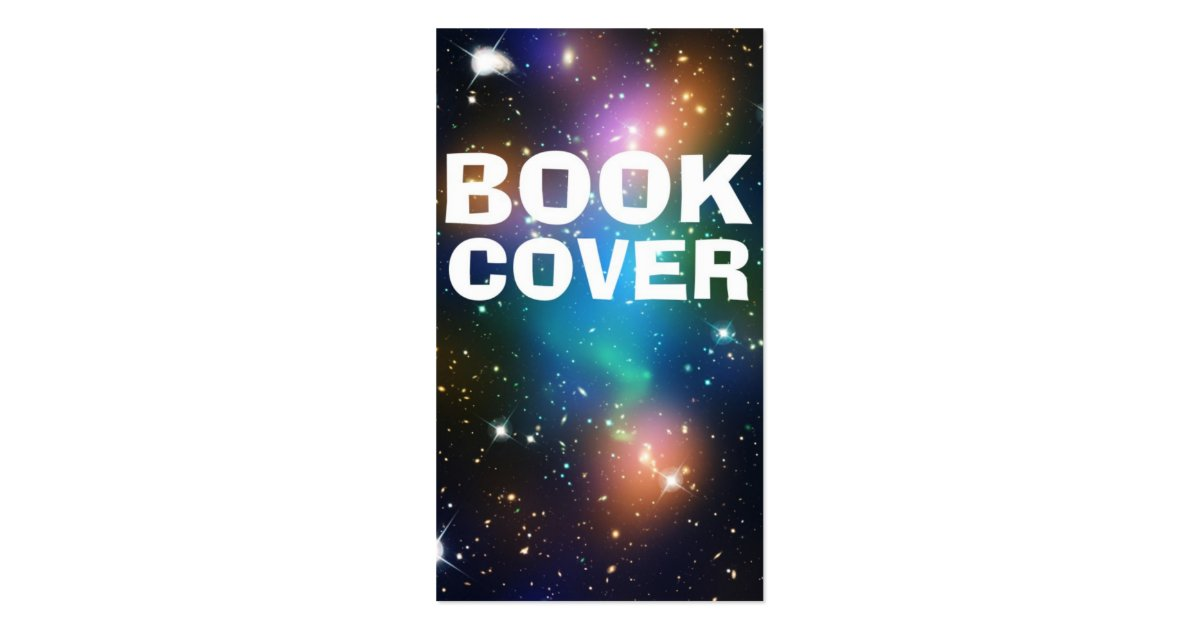 Book Cover Business Cards : Book cover business card zazzle