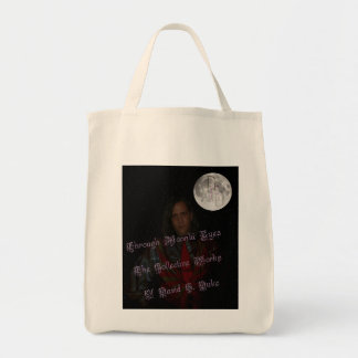 book cover front tote bag