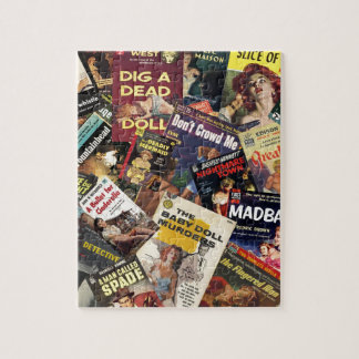 Book Cover Montage Jigsaw Puzzle