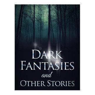 """Book cover of """"Dark Fantasies"""" by Joel Puga Postcard"""