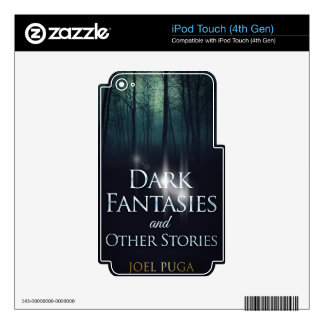 """Book cover of """"Dark Fantasies"""" by Joel Puga Skins For iPod Touch 4G"""