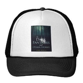 "Book cover of ""Dark Fantasies"" by Joel Puga Trucker Hat"