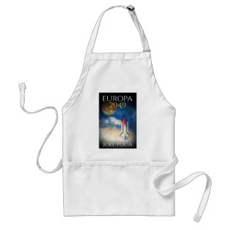 """Book Cover of """"Europa 2049"""" by Joel Puga Adult Apron"""