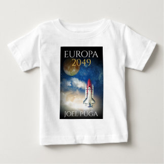 """Book Cover of """"Europa 2049"""" by Joel Puga Baby T-Shirt"""