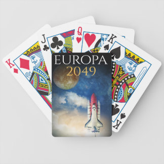 """Book Cover of """"Europa 2049"""" by Joel Puga Bicycle Playing Cards"""