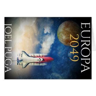 "Book Cover of ""Europa 2049"" by Joel Puga Card"