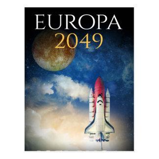 "Book Cover of ""Europa 2049"" by Joel Puga Postcard"