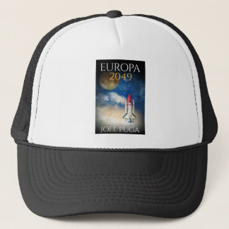 "Book Cover of ""Europa 2049"" by Joel Puga Trucker Hat"