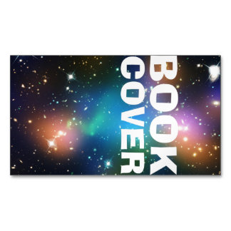 Book Cover Magnetic Business Cards