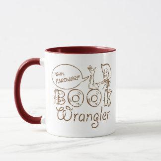 Book Cowboy Funny Librarian Mug