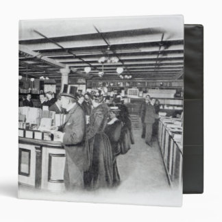 Book Department at an Army and Navy store Vinyl Binder
