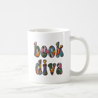 Book Diva 2 Classic White Coffee Mug