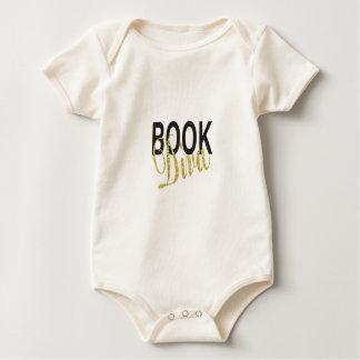 Book Diva Baby Bodysuit