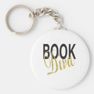 Book Diva Keychain