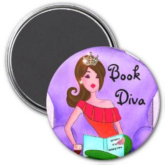 Book Diva magnet