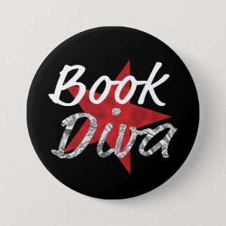 Book Diva wiith Red Star Button