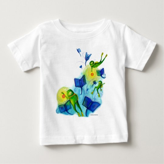 Book Divers Baby T-Shirt