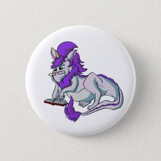 Book Dragon! Pinback Button