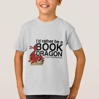 Book Dragon T-Shirt