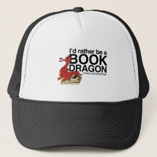 Book Dragon Trucker Hat