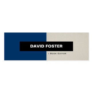 Book Editor - Simple Elegant Stylish Business Card