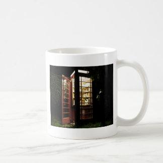 Book exchange coffee mug