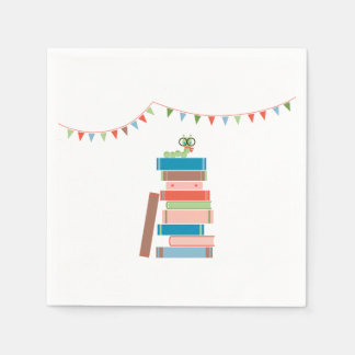 Book for Baby Shower Napkin