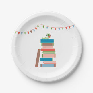 Book for Baby Shower Plate