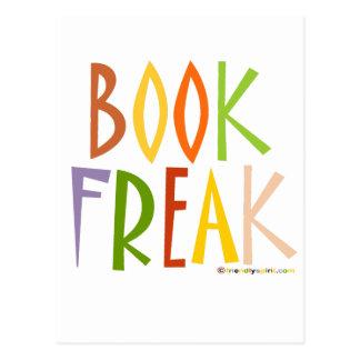 Book Freak Postcard