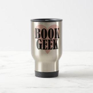 Book Geek 15 Oz Stainless Steel Travel Mug