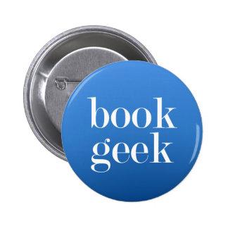 Book geek 2 inch round button