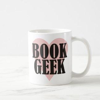Book Geek Classic White Coffee Mug
