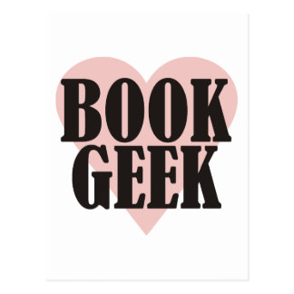 Book Geek Postcard