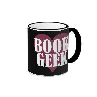 Book Geek Ringer Coffee Mug