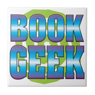 Book Geek v3 Ceramic Tile