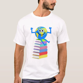 Book Globe T-Shirt