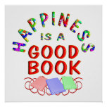Book Happiness - Starting at $11.80 Posters